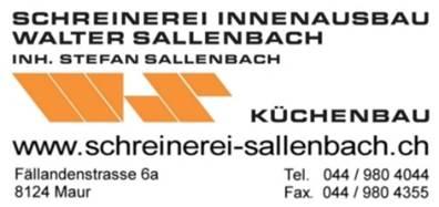 Schreinerei Innenausbau Walter Sallenbach